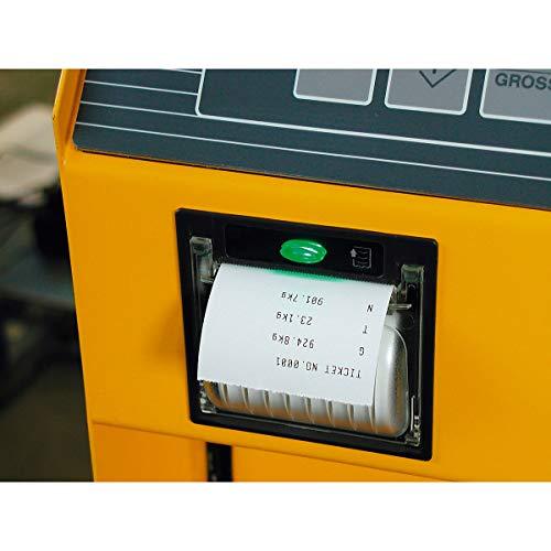 Transpalette avec balance de précision - affichage du nombre de pièces - précision de 0,5 kg de 0 à 2200 kg, avec imprimante thermique - appareil de levage appareils de levage chariot élévateur