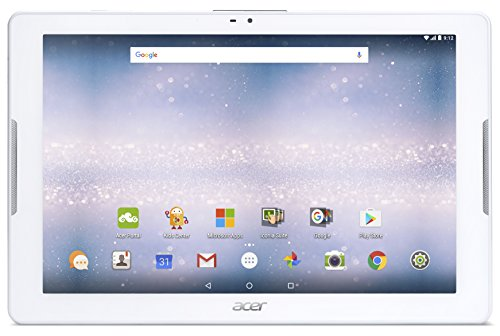 Acer Iconia One 10 B3-A32-K221 Tablet con Processore  MediaTek MT8735, Ram 2GB, eMMC 16GB, Display IPS 10.1, SD card reader (up to 128gb), LTE, Android, Bianco