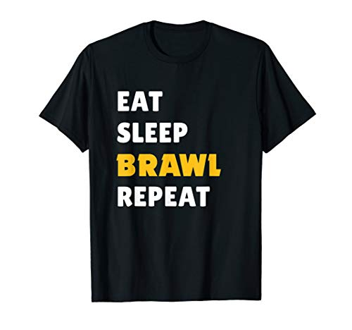 Eat, Sleep, Brawl, Repeat. For the Best Star Brawler! T-Shirt