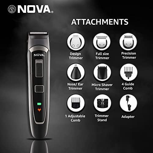 Nova All in One Head to Toe Men Grooming Kit