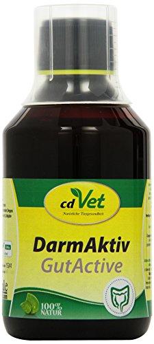 cdVet Naturprodukte DarmAktiv Hund & Katze 250 ml - Hund, Katze - Ergänzungsfuttermittel - Unterstützung der Darmflora - fördert die Verdauung - stärkt das Immunsystem - Verdauungsprobleme -