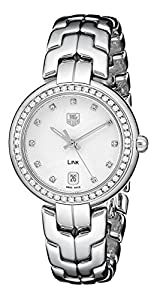 TAG Heuer Women's WAT1316.BA0956 Link Analog Display Quartz Silver Watch Shop and For Your and review