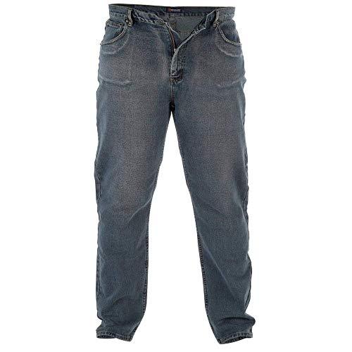 Komfort Rockford Bequeme Passform Jeans (Dirty Denim 370) - Herren, DISTRESS FARBE, 38W x 30L