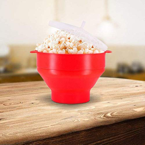 Check Out This Popcorn Bowl Popcorn Bucket Microwaveable Popcorn Maker Foldable Popcorn Maker Silico...