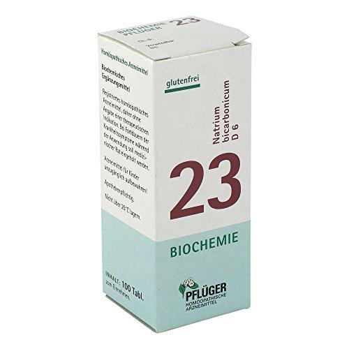 BIOCHEMIE Pflüger 23 Natrium bicarbonicum D 6 Tab. 100 St