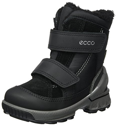 ECCO Unisex Baby Biom Hike Infant Klassische Stiefel, Schwarz (Black/Black), 21 EU