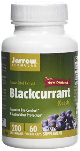 Jarrow Formulas Blackcurrant, 200mg - 60 Vcaps, 60 Capsules