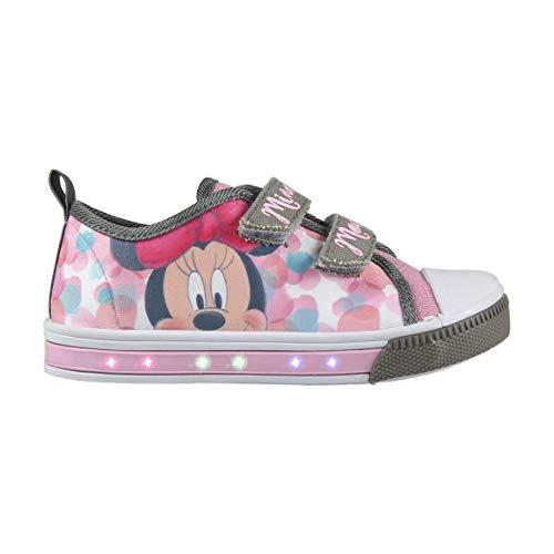 Zapatillas Casual con LED Minnie Mouse 2048 (talla 29)