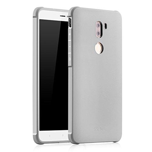 XMT Xiaomi Mi5S Plus Custodia in TPU Armor Cover Custodia per Xiaomi Mi5S Plus 5.7 Pollice Smartphone(Argento)