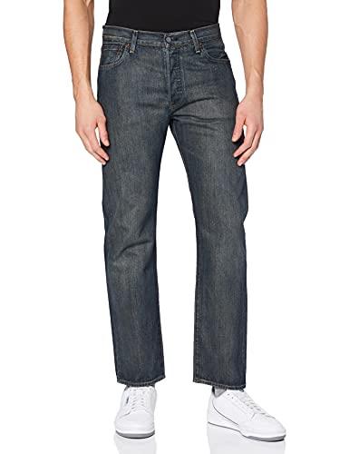 Levi's 501 Original Fit Jeans Homme, Bleu (Dark Clean), 34W / 32L