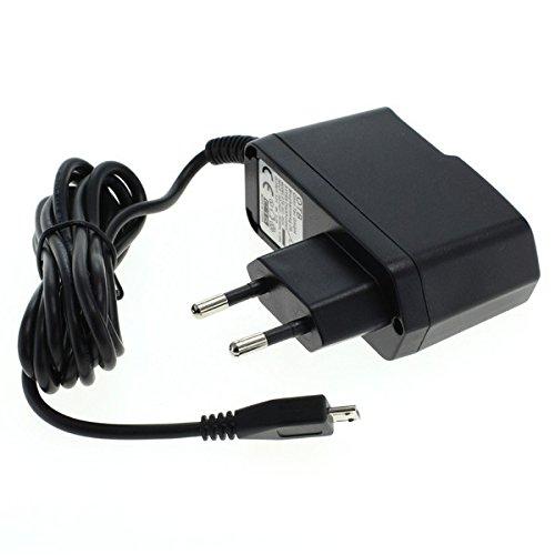 GIGAFOX® Ladegerät Ladekabel Datenkabel Netzteil (Micro-USB) 1,5m 1A für Medion Lifetab S10346 - für schnelles Laden