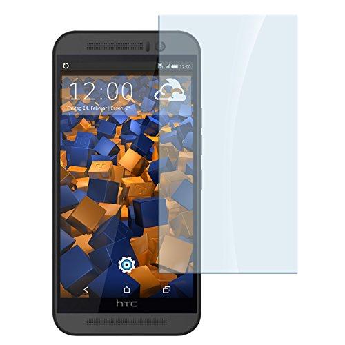 mumbi Hart Glas Folie kompatibel mit HTC One M9 Panzerfolie, Schutzfolie Schutzglas (1x)