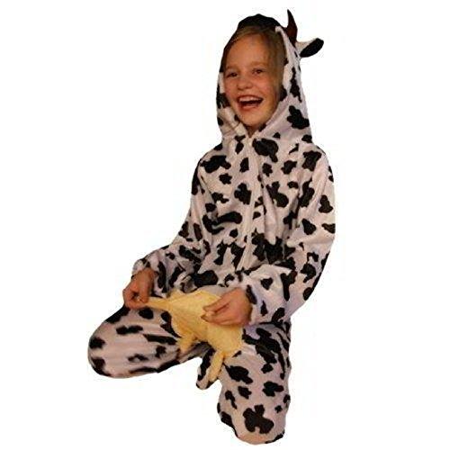 Kuh-Kostüm, AN32 Gr. 110-116, für Kinder, Kuh-Kostüme Kühe für Fasching Karneval, Kind  Klein-Kinder Karnevalskostüme, Kinder-Faschingskostüme, Geburtstags-Geschenk Weihnachts-Geschenk
