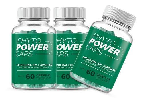 Phyto Power Caps Original 3 Potes Em Oferta