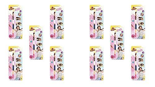 ALMACENESADAN 2403; packe 10 Schulpartien Disney Ich Bin Mond; 3 stück; Bestehend aus Bleistift, Gummi und Spitzer, ideal für Partys und Geburtstage