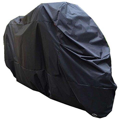 Goandstop MC-779 Housse de Protection pour Moto, Couverture pour Moto Scooter en Polyester Impermeable 210D XXXL