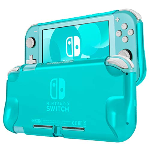 TNP Hard Case for Nintendo Switch Lite Case Skin Cover (Turquoise) Comfort Grip Enhance, Lightweight, Slim, Scratch & Shock Protector Protective Shell Nintendo Switch Lite Accessories