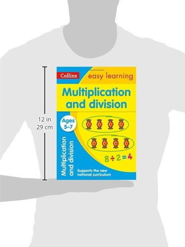 Multiplication and Division Ages 5-7: Ideal for home learning (Collins Easy Learning KS1)