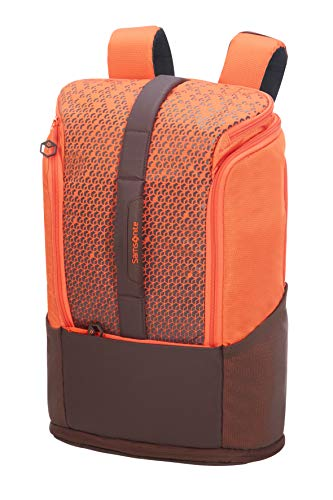 Samsonite Hexa-Packs - Laptop Backpack Medium Expandable - Sport Rucksack, 49 cm, 26 Liter, Orange Print