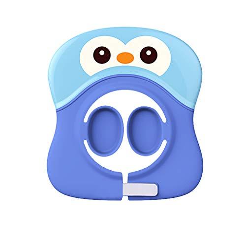YULAN douchekap voor baby's, verstelbaar, met klittenbandsluiting, waterdicht, voor meer gehoorbescherming van siliconen