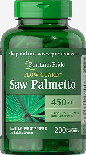 Puritans Pride Saw Palmetto 450 Mg, 200 Count