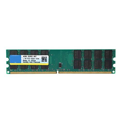Shipenophy Memoria de Escritorio Memoria de Escritorio DDR2 4G RAM de Escritorio Alta Velocidad Fácil de Transportar 4G RAM de Escritorio Duradera para Escritorio para computadora