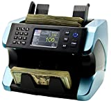 IDLETECH BC-1500 Money Counter Machine with Counterfeit Detection, Automatic Money Counting, Money Counter. UV/MG/IR/DBL/Half/Chain/DD, Selected Value, Add, Batch Modes. Print Option. Bank Grade.