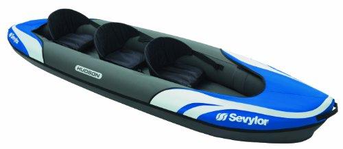 Sevylor Hudson Kayak Hinchable, Unisex, Azul