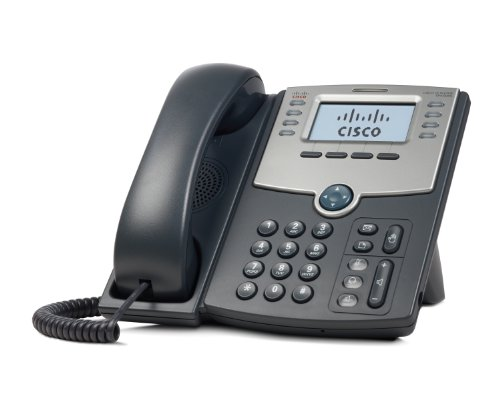 IP Phone Cisco 8 Line With Display, PoE and PC Port(SPA508G)