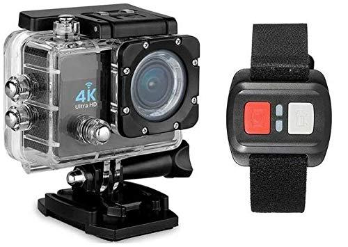 PRO CAM 4K SPORT ACTION WIFI DV CAMERA ULTRA HD 16MP VIDEOCAMERA SUBACQUEA 30 MT MINI VIDEOCAMERA (MICRO SD 32 GB INCLUSA)