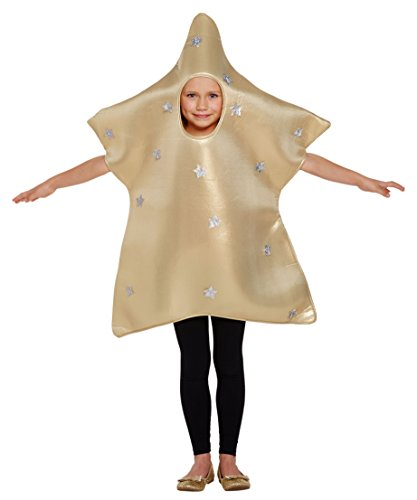 CHILDS STAR COSTUME - LARGE (10 - 12 YEARS)