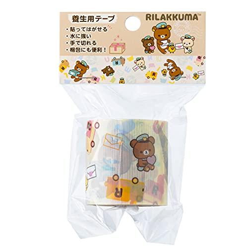 サンエックス リラックマ 養生テープ 宅配便利シリーズ A柄 SE51901