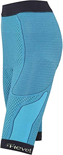 Teyder 924PT-187-S/M - Hevet Shapecell Sport Pantalón Short Reductor, Pequeño/Mediano Azul/Negro