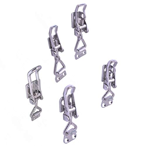 iplusmile Toggle Latch Clamp Stainless Steel Marine Grade Boat Hardware (56010A)