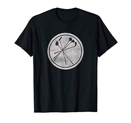 Hierros de golf golfista vintage Camiseta