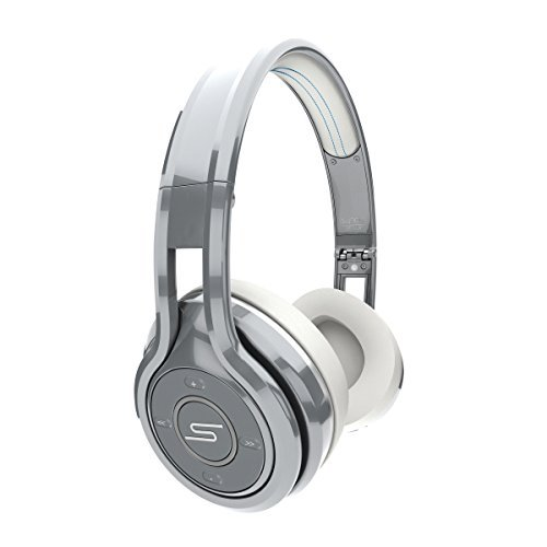 SMS Audio SYNC by 50 Cent On-Ear Wireless Headphones - Silver by SMS Audio
