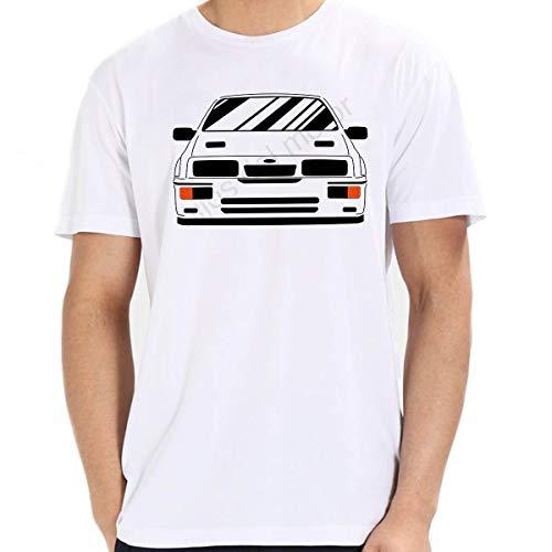 Camiseta Sierra Cosworth (Blanco, M)