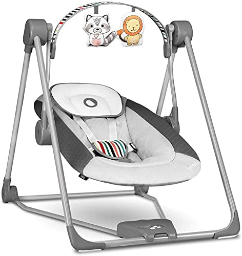 Lionelo Otto Columpio portátil para bebés hasta 9 kg 57 x