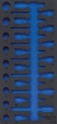 BGS 4116-1 | Insert de servante d'atelier 1/3 | vide | pour art. 4116
