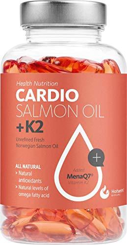 Hofseth BioCare Health Nutrition Cardio Salmon Oil + K2