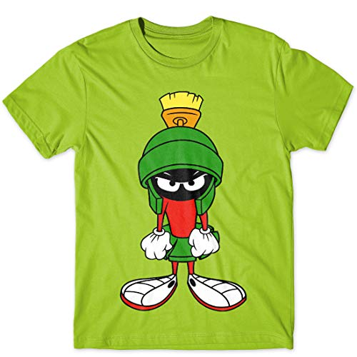 Looney Tunes Martian Youth Boys T-Shirt Large Green