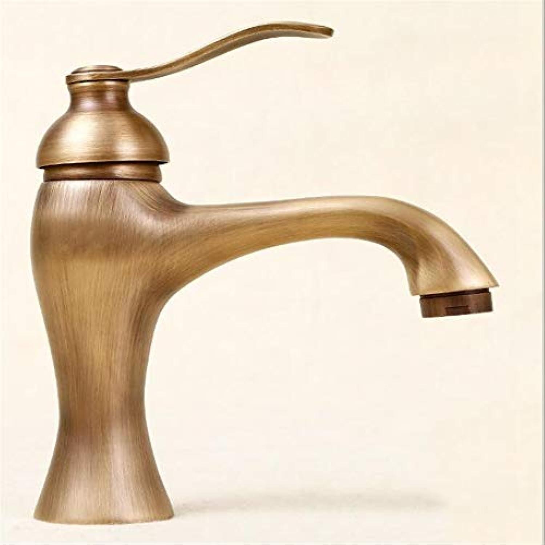 Waschtischarmaturenbad Wasserhahn Einzigen Loch Waschbecken Becken Badezimmer Schrank Kupfer Heies Und Kaltes Wasser