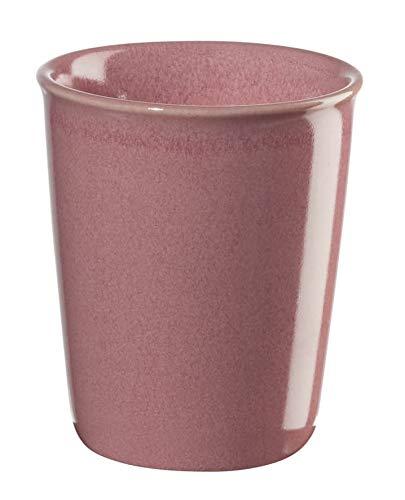 ASA COPPETTA Becher Espresso, pink D. 6,5 cm, H. 7 cm, 0,1 l.