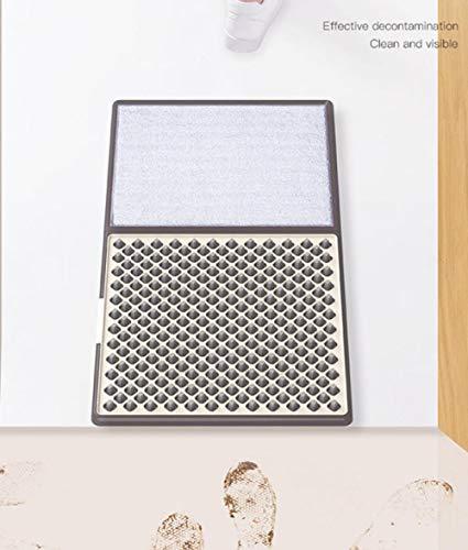 flmflmd Alfombrillas para desinfección de Suelas, Limpieza doméstica automática, Almohadillas para pies, alfombras y felpudos, felpudos para desinfección