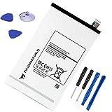 ASKC 3.8V 4900mAh EB-BT705FBE Tablet Baterías para Samsung Galaxy Tab S 8.4 SM-T700 SM-T700N SM-T705 SM-T705C SM-T705Y SM-T707 SM-T707A SM-T707V Series EB-BT705FBC EB-BT705FBU with Tools