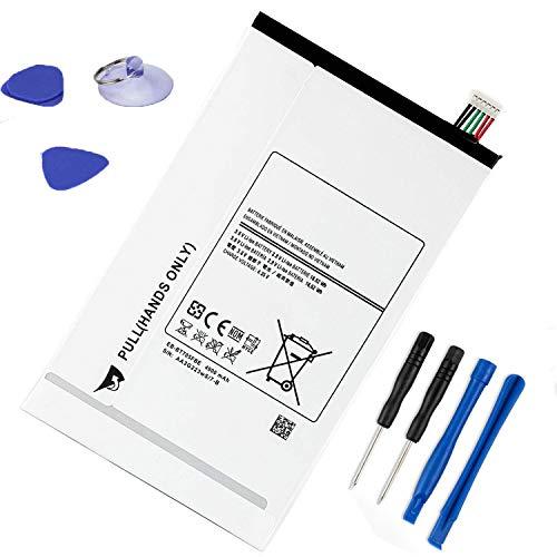 ASKC 3.8V 4900mAh EB-BT705FBE Tablet Batteria per Samsung Galaxy Tab S 8.4 SM-T700 SM-T700N SM-T705 SM-T705C SM-T705Y SM-T707 SM-T707A SM-T707V Series EB-BT705FBC EB-BT705FBU With Tools
