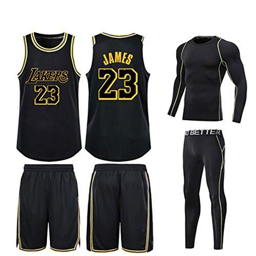 23 Los Angeles Lakers König James Lebron Raymone Basketball Trikot Herren Kinder Jungen Damen USA Champion Lakers Baby Dick und verschleißfest-7-S
