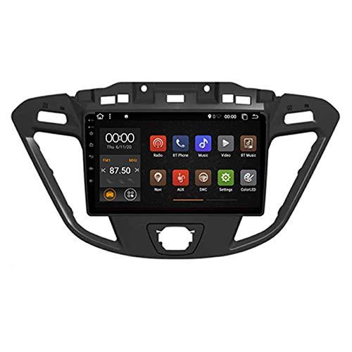 Doppel-Din Android Auto Navigation Stereo Radio GPS Navigation Für Ford Transit Custom 2013-2018, 4-Kern GPS...
