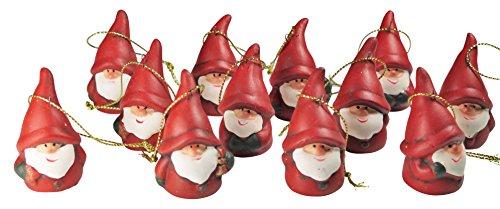 khevga addobbi di Natale in Terracotta Babbo Natale