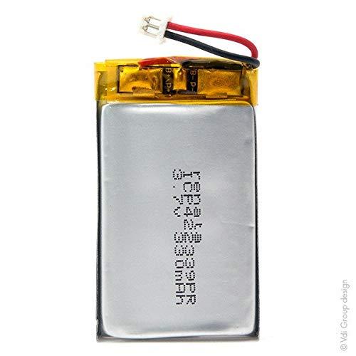 Renata / Swatch Group - Batería Li-Po 1S1P ICP422339PR + PCM UN38.3 3.7V 330mAh Molex